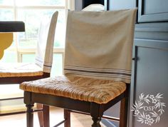 Vintage Mangle Cloth Slipcovers