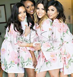 Plum Pretty Sugar   Bridesmaid Robes, Bridal Robes & More