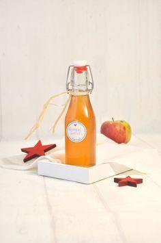 Bratapfel Sirup selbst gemacht z.B. über Vanilleeis