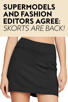 This divisive 1990s trend is having a resurgence, and after testing it myself, I'm staunchly pro. #skorts #fashion #summerfashion 1990s Trends, Sports Uniforms, Tennis Skort, Hiking Tips, City Chic, Black Bodysuit, Fashion Editor, Supermodels, Fashion Photography