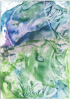 Enchoustic art landschape
