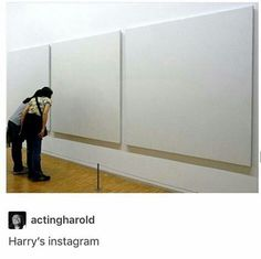 3 blank posts, why Harry? XD