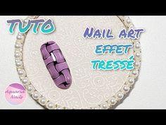 Nail art effet tressé | TUTO - YouTube Aquarium Nails, Braid