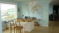 Mama's Working Too: Home School Rooms For Inspiration