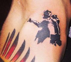Tattoo Sergio Ramos - Michael Jackson - Tattoos inspired by Michael Jackson ღ in fans who love him! @carlamartinsmj