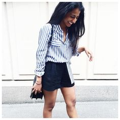 More stripes up on le blog #modetteitgirls #ootd #inspiration #instadaily