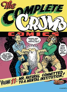 r.crumb comics | The Complete Crumb Comics Vol. 11 by R. Crumb (New Softcover Printing ...
