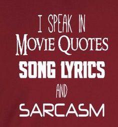 Especially sarcasm.