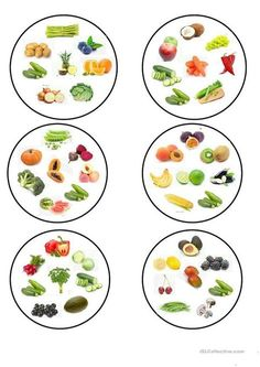 Dobble fruit and vegetables. worksheet – Free ESL printable worksheets made by t… Dobble Obst und Gemüse. Healthy Food Activities For Preschool, Activities For Kids, Alphabet Activities, Printable Worksheets, Printables, Wooden Clothespins, Teaching Jobs, English Vocabulary, Food Vocabulary