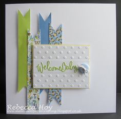baby card, Mellymoo papercrafting