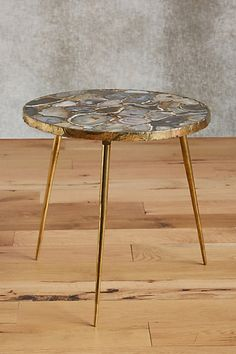 Agate End Table #anthropologie