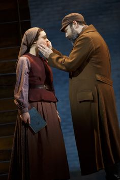 Tevye And Chava In The Most Recent Broadway Revival Of Fiddler On The Roof.