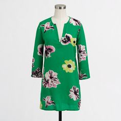 J.Crew Factory - Factory printed crinkle tunic