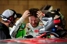 Caption this photo of Dale Earnhardt Jr. Winner will be announced on May 29.