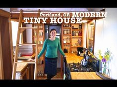 One of the best tiny homes I've seen so far - School Teacher builds Tiny House using 80% Salvage - YouTube