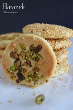 Syrian Barazek cookies