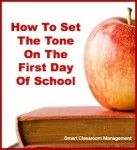 How to Set The Tone On The First Day Of School