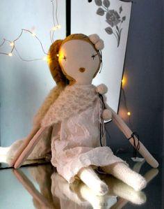 Lapin & Me — Jess Brown Snow Flake Dolls