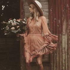 Stacey May married in rusty brilliance. Bohemian, Dresses With Sleeves, Wedding Photography, Long Sleeve, Instagram, Style, Fashion, Wedding Shot, Moda