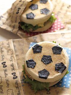 Soccer ball muffin