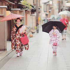 Rainy day in Miyagawacho