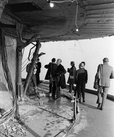 1971 Blast: The BT Tower sustained damage after a bomb was planted by the IRA.
