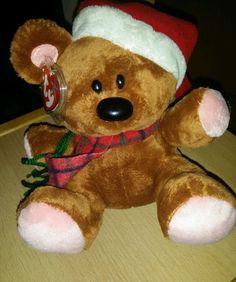 TY Beanie Buddy Garfield Pooky mit Weihnachtsmütze Beanie Buddies, Ty Beanie, Xmas, Teddy Bear, Animals, Branding, Yule, Animales, Navidad