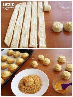 Krem Peynirli Çörek