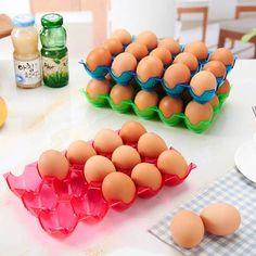 15 della griglia di stoccaggio delle uova frigorifero box contro uovo rotto storage cucina - Banggood mobile