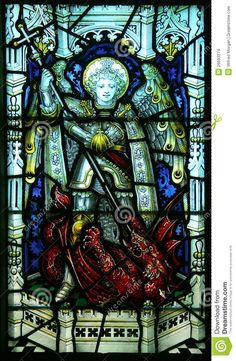 st-michael-stained-glass-window-26693274.jpg (849×1300)