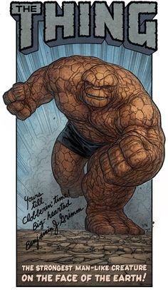 The Thing by AlexPerkins on deviantART