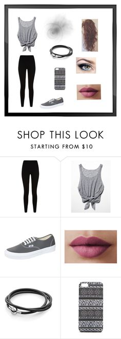"""Tenue 11 ."" by imaginetenu ❤ liked on Polyvore featuring Givenchy, Free People, Vans, LORAC and With Love From CA"