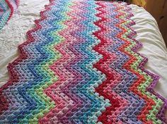 granny ripple ..love the colors