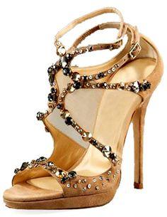 Apricot High Heels Suede Fashion Shoes. Shoe Porn!