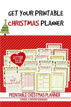 I need this to get organized.  #holiday #christmas #planner #orginization #printable