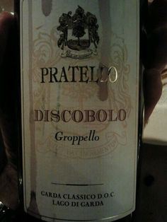 Nicely flavored red wine from the Lombardy Lake Garda region