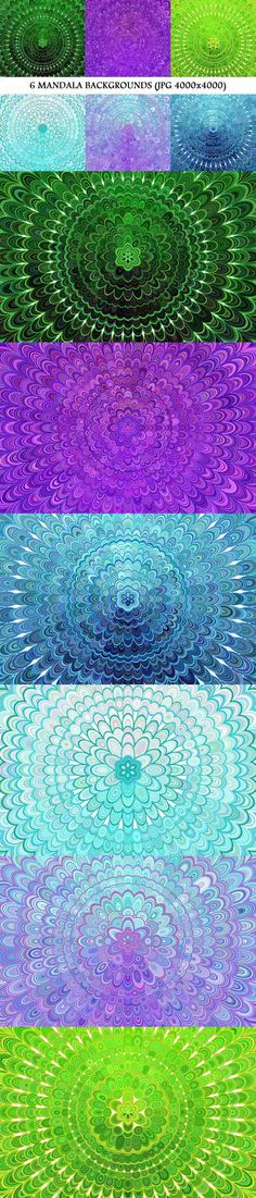 6 Mandala Backgrounds #cheap #BackgroundGraphic #BackgroundSets #AbstractBackgrounds #CheapBackground #radial #abstract #BackgroundGraphics #background #AbstractDesign #PremiumVectorGraphics #mandala #sale #geometric #backdrop #vector #background #sale #BackgroundSet