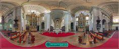 Barroco em Portugal em panoramas 360° - Talha dourada