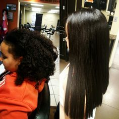 Chi transformation, Hair relaxer, Before and After – Before After – Chi transfor… – Zita Bretherton - Perm Hair Styles Chemical Straightening, Curly Hair Styles, Natural Hair Styles, Natural Beauty, Afro, Texturizer On Natural Hair, Air Dry Hair, Types Of Curls, Relaxer
