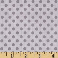 Riley Blake Small Dots Tone on Tone Grey from @fabricdotcom  Designed for Riley Blake, this tonal cotton print fabric is perfect for quilting, crafts, apparel and home décor accents.