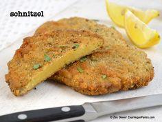 Zsu's Vegan Pantry: veganmofo - book/film inspiration + schnitzel (chickpea brine)