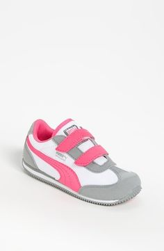 PUMA 'Whirlwind' Sneaker  Limestone Grey/ White/ Pink from Nordstrom on Catalog Spree, my personal digital mall.
