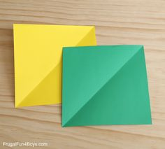 How to Fold Paper Ninja Stars - Frugal Fun For Boys and Girls