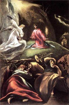 The Agony in the Garden - El Greco, 1608