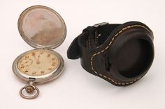 Classic timepiece leather watch holder for your wrist. Turn your pocket watch into a fashion forward strap band wrist watch. I need. Men's accessories.