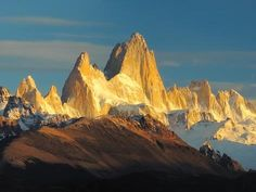Glaciers National Park Argentina | ... of Mountains, Mt Fitzroy, Argentine Glaciers National Park, Argentina
