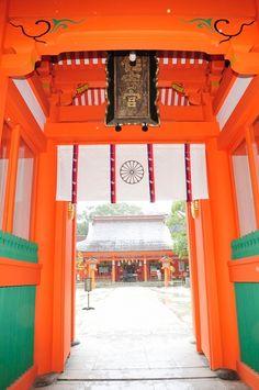 Sumiyoshi shrine #fukuoka #japan