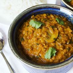 Red lentil mushroom masala with coconut cream! vegan and gluten-free