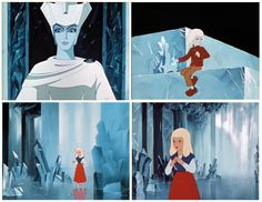 The Snow Queen (Russian: Снежная королева, Snezhnaya koroleva) is a 1957 Soviet animated film directed by Lev Atamanov. ~ I love this film!!