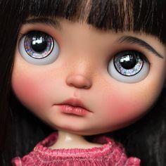 Cleo, last day, link in profile #blythe #dollartistry #blythestagram #instablythe #customblythe #blythecustom #doll #artdoll